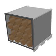 palette transport tubes